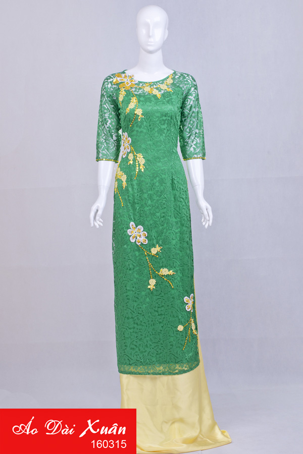 áo dài kết - 160315