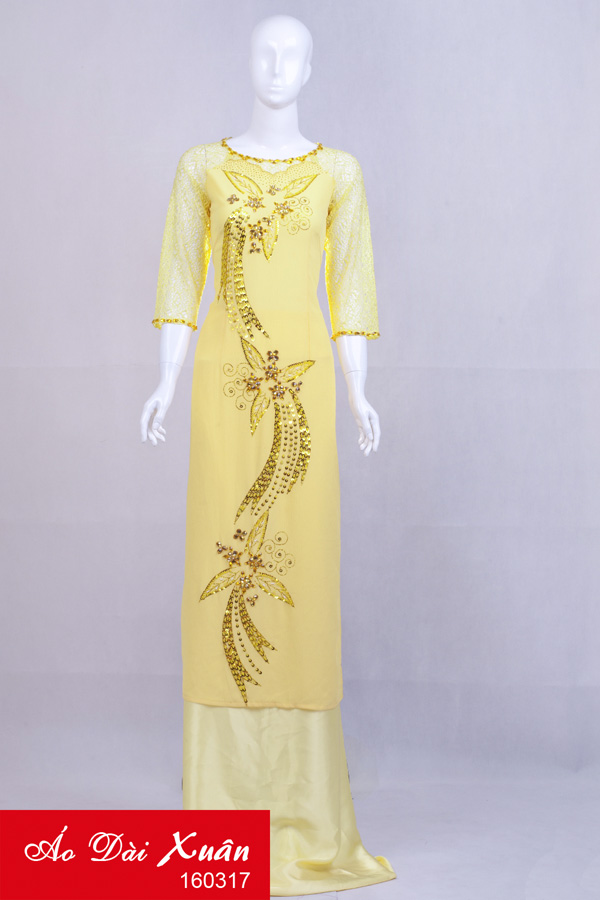 áo dài kết - 160317