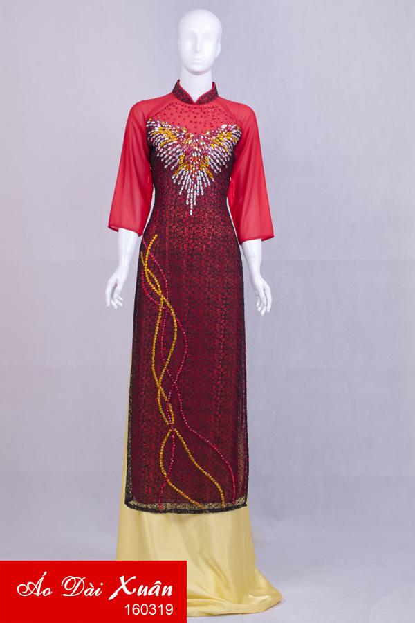 áo dài kết - 160319