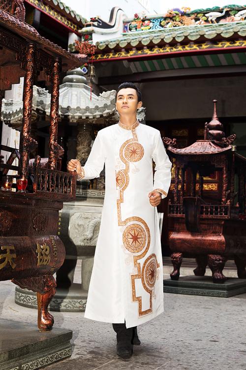 áo dài nam - 150982