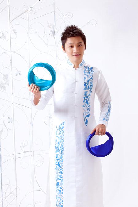 áo dài nam - 150987